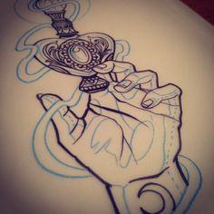 Perfume's tattoo