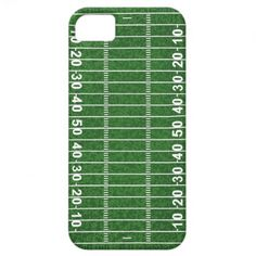 Football Field Design iPhone Casemate iPhone 5/5S Cover