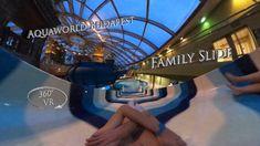 Aquaworld Budapest Family Slide (Bodyslide) 360° VR POV Onride Water Slides, Vr, Budapest