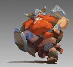 Viking, WenXu Xu on ArtStation at https://www.artstation.com/artwork/8LglQ