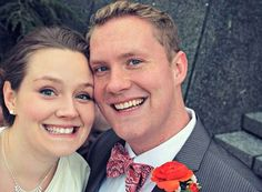 Creepy Figure Noticed Lurking in Couple's Wedding Photo