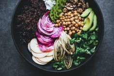 Beet, Endive and Quinoa Rainbow Salad