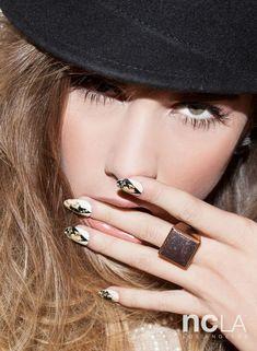 • Aly En Vogue• nail wraps by celebrity nail stylist Stephanie Stone for NCLA x Nailing Hollywood . www.shopncla.com