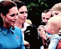 "Look, she say ""bless you"" to babies, I freaking adore her =D!!!!!!!!!!!  tumblr_n805hnBGuN1qfqt76o2_r1_250.gif (245×199)"