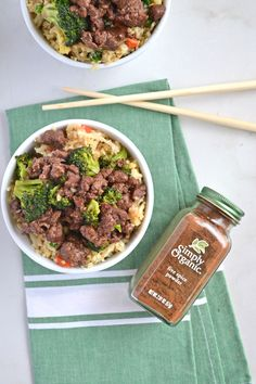 Five Spice Beef & Broccoli - Little Bits of...