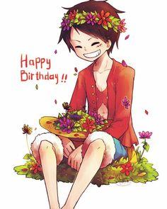 Feliz aniversário Luffy
