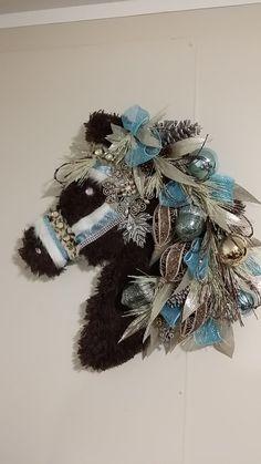 Horse Wreath by CrazyHorseBling on Etsy