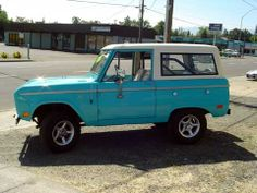 1969 Ford Bronco- Fun to trade my car in on this