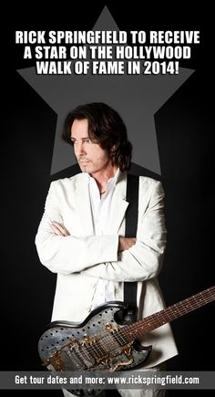 Rick Springfield to get star on Hollywood Walk of Fame in 2014