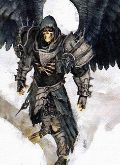 skelleton angel knight
