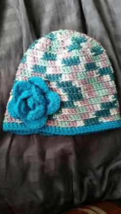 Hat I made as a thank you gift