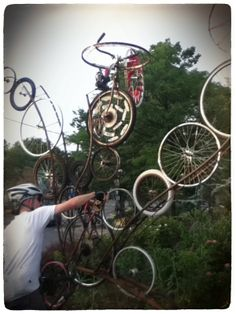 Wheels in the Sky, by Howard Connelly Design