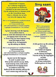 264 Best Afrikaanse Rympies En Liedjies Images Afrikaans Kids