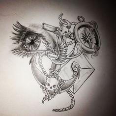 Anchor skin deep tattoo sketches, tattoo designs и tattoo st Sick Tattoo, Tattoos, Skin Deep Tattoo, Picture Tattoos, Tattoo Designs Men, Hand Tattoos, Tattoo Sketches, Tattoo Stencils, Tattoo Designs