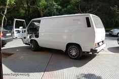 Transporter T3, Van, Trucks, Vehicles, Cute, Door Panels, Travel, Kawaii, Truck