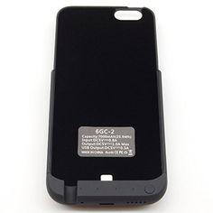 DigitBay 6GC-2 7000 mAH Ultra Slim Li-Polymer Battery Charger Case with Standing Holder for iPhone 6 6S DigitBay http://www.amazon.com/dp/B019CSCFK8/ref=cm_sw_r_pi_dp_qQRCwb0BD8GQQ