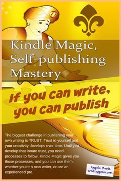 Kindle Magic: Make the Most of Your Opportunities - There's never been a better time to be a writer. You're in charge of your fortune. Amazon's Kindle Direct Publishing has changed publishing, permanently. While the publishing industry's looking for ways to swim in this new environment without drowning, we writers need to take the opportunities Kindle self-publishing gives us NOW: http://www.fabfreelancewriting.com/blog/2014/11/17/kindle-magic-make-opportunities/ #ebooks #selfpublishing