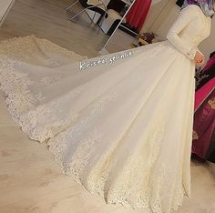 muslim wedding dresses with veil Hijabi Wedding, Muslimah Wedding Dress, Muslim Wedding Dresses, Wedding Wear, Dream Wedding Dresses, Bridal Dresses, Modest Wedding, Hijab Dress Party, Bridal Hijab
