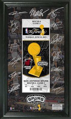 2013 NBA Finals framed pictures! Spurs fans! Heat fans! #sanantoniospurs #miamiheat #heat #spurs #thefinals #NBAfinals #sports #NBA #basketball