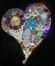 Mosaic Heart Art – Happy Valentine's Day!