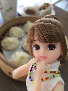 ランチは、念願の小籠包よ♡ ジューシーな肉汁にほっぺたが落ちそう〜♡ リカ、小籠包ならいくつでも食べられちゃうなっ♪ うふふ♡ #travel #taiwan