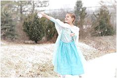 Frozen Inspired Shoot by Jodi Chandler Photography