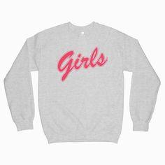 Girls Sweatshirt Friends Tag a friend who would love this! Graphic Tees, Graphic Sweatshirt, T Shirt, Popular Now, Fashion Stylist, Fashion Addict, Fashion Models, Cool Designs, Shirt Designs