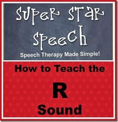 How to Teach the /r/ Sound