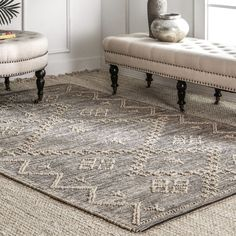 Find nuLOOM Julianne Moroccan Jute Rug, x Grey online. Shop the latest collection of nuLOOM Julianne Moroccan Jute Rug, x Grey from the popular stores - all in one Area Rugs For Sale, Rug Sale, Highlands, White Area Rug, Blue Area Rugs, Moroccan Area Rug, Rugs Usa, Jute Rug, Round Rugs