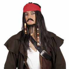 Pruik Jack Sparrow
