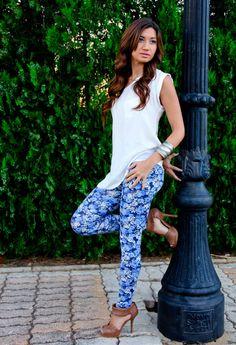 Camisa Shana Leggins Lefties Zapatos Zara Joyas Vero Modas