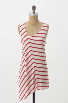 $68 @ Anthropologie or DIY... I have some pink and gray striped jersey I've had forever that I need to use.