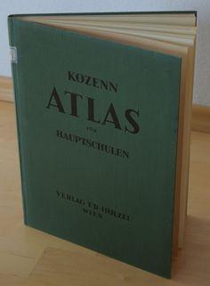 KOZENN ATLAS für Hauptschulen * Güttenberger * Verlag Ed. Hölzel 1935