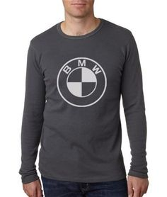 BMW BMW Bavarian Motor Works Logo Long Sleeve Mens T-Shirt