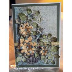 Gallery | Dainty Fleur Basket - Heartfelt Creations