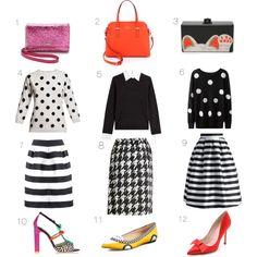 black and white polka dot sweater - Google Search