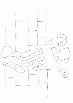 Actividades para niños preescolar, primaria e inicial. Fichas con ejercicios de grafomotricidad para niños de preescolar y primaria. Unir puntos y pintar. Grafomotricidad Unir puntos y pintar. 20