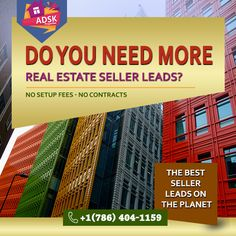 """Fresh exclusive lead from All USA """" Need to relocate, need fast sale. """"  Looking for Lead Buyers!!! Text and Call me to get this lead (786) 404-1159"""