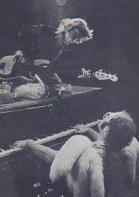 Elton John and Dee Muray