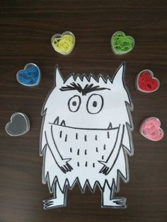 """""""El monstruo de colores"""" (con actividades) - Apego, Literatura y Materiales respetuosos Rainbow Theme, Baby Art, Fun Activities, Tatting, Kindergarten, Preschool, Animation, Colours, Education"""
