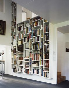35 Clever Ideas of How To Perfectly Store Your Books at Home | http://www.designrulz.com/product-design/2012/10/ideas-of-how-to-perfectly-store-your-books-at-home/