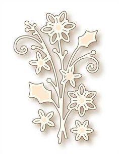 Winter Bouquet Die - Wild Rose Studio