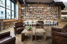 pano BROT y Kaffee por DITTEL | Architekten, Stuttgart Alemania cafetería panadería