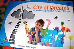 Kreatywna zabawka - miasto marzeń | Raz pod wozem raz na wozie czyli bajeczne macierzyństwo....