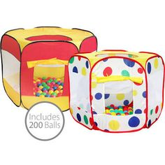 Charles Bentley Childrenu0026 Pop Up Ball Pit Play Tent Indoor Outdoor W/ 200 Balls  sc 1 st  Pinterest & Little Tikes Fire Truck Play Center Ball Pit Multicolor | Play ...