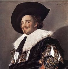 FRANS HALS - il cavaliere 1624