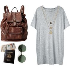 tumblr travel outfits - Google Search