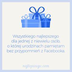 Wszystkiego najlepszego dla jednej z niewielu osób, o której urodzinach pamiętam bez przypomnień z Facebooka. #kartki #urodziny #życzenia