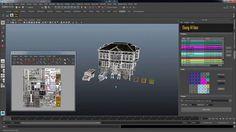 Easy Atlas 1.10 - Maya用のテクスチャアトラス化ツール!Photoshopとも連携し複数モデルのテクスチャ&UVを簡単に結合可能に!