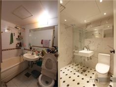 4번째 이미지 Corner Bathtub, Toilet, Bathroom, Interior, House, Washroom, Flush Toilet, Indoor, Home